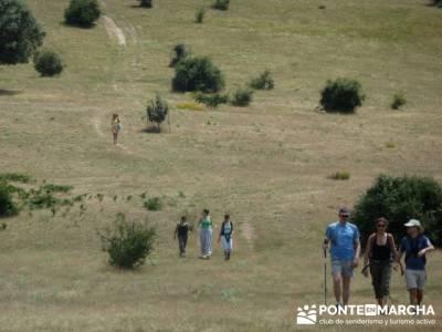Dehesa de Fuentecuadrilla - viajes fines de semana; club de montaña